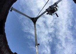 Bartels montage RVS overstortmes